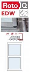 Kombi-Eindeckrahmen Roto Q-4 EDW 1/2 Eindeckrahmen - für profilierte Eindeckmaterialien / Profilbeläge bis zu 8 cm hoch Profil www.house-4u.eu