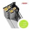 Dachfenster OKPOL IGOV N22 PVC I6 Schwingfenster Kunststoff 3-Scheiben Uw=0,86 Energiesparende