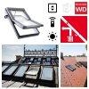 Dachfenster Elektrofenster Roto R49 K2E (WDT R45 K WD E_) RotoTronic Kunststoff Automatische Fenstern 2-fach Verglasung