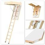 Bodentreppe FAKRO LTK Energy energiesparende Bodentreppe aus Holz U=0,68W/m²K