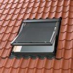 Markise Velux MHL Hitzeschutz 5060 transparent schwarz