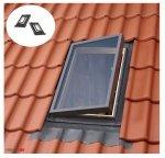 Ausstiegsfenster VELUX VELTA VLT 029 45X75, Dachluke links und rechts, Skylight für unbeheizte Räume, Dachausstiegsfenster,  Drehfenster, Skylight für unbeheizte Räume,  Kaltraumfenster, Eindeckrahmen integriert mit Ausgangsfenster