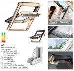VELUX Dachfenster Schwingfenster GGL 3066 ENERGY-STAR Holz klar lackiert