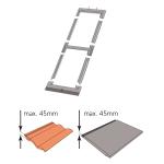Kombi-Eindeckrahmen keylite BLTRF 1/2 Ziegel(1,5 bis 4,5cm)