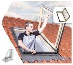 Ausstiegsfenster Fakro FWP U5 FSC Wohndachausstieg  FSC superenergiesparende Isolierverglasung U5 dachfenster 3-fach Verglasung Uw=1,0 W/m2K  Dachausstiegsfenster - Dachausstieg - Dachluke - Dachfenster