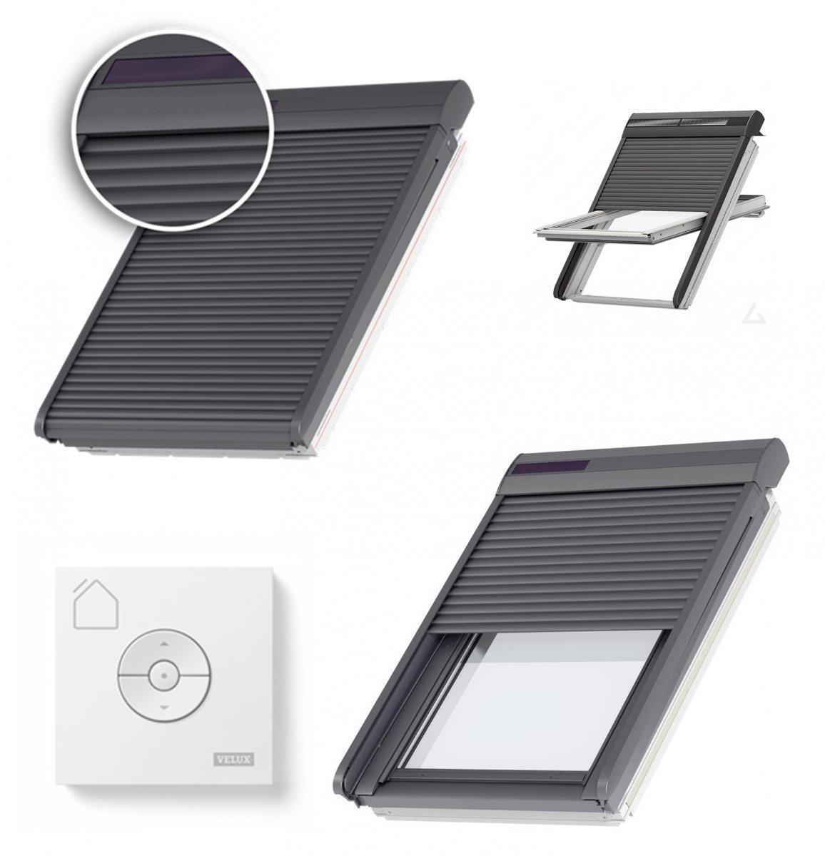 große Sammlung neues Erscheinungsbild verrückter Preis VELUX Dachfenster Außenrollladen SSL 0000S Aluminium INTEGRA ...