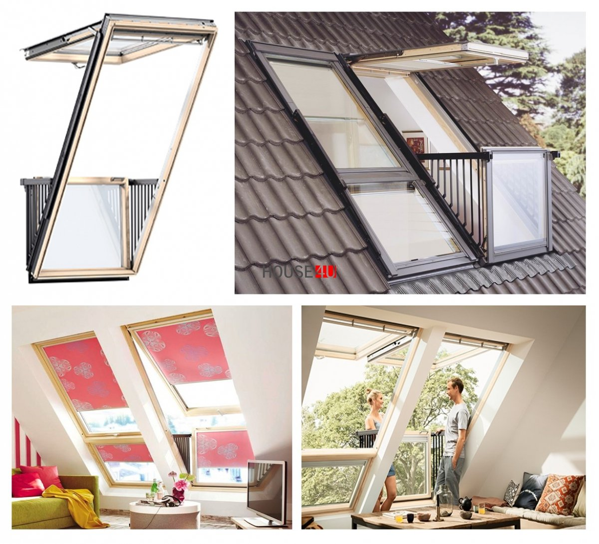 velux gdl cabrio 3066 holz kiefer holz klar lackiert energie plus velux balkonfenster. Black Bedroom Furniture Sets. Home Design Ideas