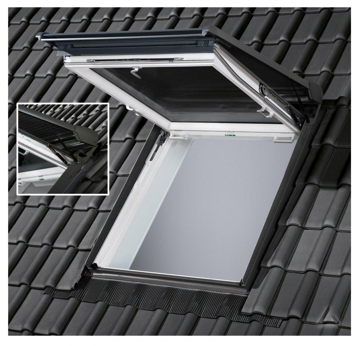 letzte Veröffentlichung neuer Stil & Luxus Modestile VELUX Solar-Rollladen SST 0000 Außenrollladen Aluminium ...