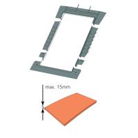 Eindeckrahmen keylite PTRF Biberschwanz(|}1,5 cm)