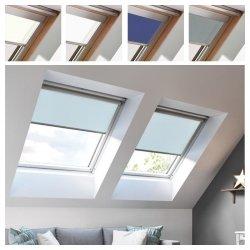 Sichtschutzollo ESSENTIALS für Keylite Dachfenster in Führungen