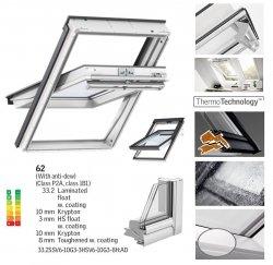 VELUX Schwingfenster GGU 0062 SCHALLSCHUTZ aus Kunststoff 5