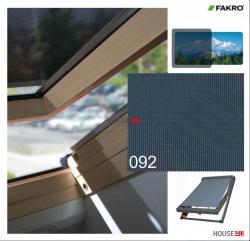 OUTLET: Netzmarkisen Fakro AMZ NewLine 55x78 Markise Manuell Netzmarkisen Fakro AMZ I gruppe: 92 farbe, transparent Anti-Hitze-Markise für FAKRO Dachfenster