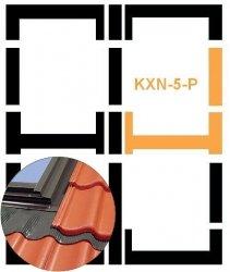 Eindeckrahmen Fakro KXN-6-P Modul für die Kombination übereinander für hochprofilierte Eindeckmaterialien