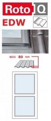 Kombi-Eindeckrahmen Roto Q-4 EDW 1/2 Eindeckrahmen - für profilierte Eindeckmaterialien / Profilbeläge bis zu 8 cm hoch Profil