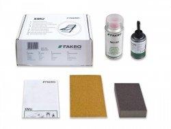 Fakro Set  XMU – Holzfenster, Farbe: weiß.