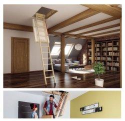 Bodentreppe FAKRO LWT Passivhaus Super-thermoisolierte Bodentreppen U=0,51 W/m²K energiesparende Bodentreppe aus Holz