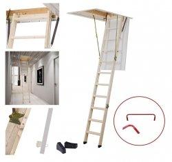 OUTLET: Bodentreppe DOLLE SW 26 60x120 ClickFix® U=1,35 Gold aus Holz Dachbodentreppe Stiege Klapp Versand 48H