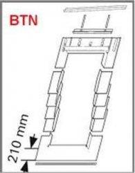 Eindeckrahmen Roto EDR BTN für bitumenschindel ohne WD
