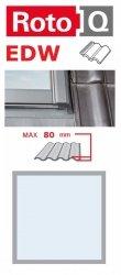 Eindeckrahmen Roto Q-4 EDW Eindeckrahmen - für profilierte Eindeckmaterialien / Profilbeläge bis zu 8 cm hoch Profil