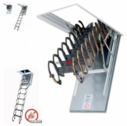 OUTLET: Bodentreppe Fakro LSF 50x100 x300 Scherentreppe