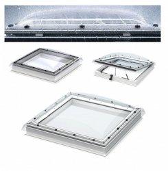 VELUX Flachdach-Fenster Oberelement LICHTKUPPEL Klarer Transparentes Polycarbonat- ISD 0010-- Typ CFP/CVP/CXP/CSP