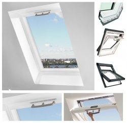 Dachfenster Roto Q-4 W2C P5 Weiß Holz - weiß lackiert Schwingfenster Uw=1,1 Holz 2-fach-Verglasung