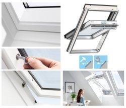 VELUX Dachfenster GGU 0070Q Schwingfenster Kunststoff Einbruchschutz