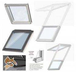 VELUX Dachfenster GIU 0066 Kunststoff Zusatzelement DachschrägeENERGIE PLUS  Aluminium Dachschräge Polyurethan / Kunststoff mit Holzkern