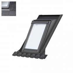 Einzel-Aufkeilrahmen Velux EAS 6000 Für flache Eindeckmaterialien bis 1,6 cm Höhe (2 x 0,8 cm). Seitenteile durchgehend mit Stehfälzen