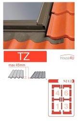 Kombi-Eindeckrahmen Optilight TZ-N2 U2 Eindeckrahmen - für profilierte Eindeckmaterialien / Profilbeläge bis zu 4,5 cm hoch Profil