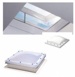 VELUX FLACHDACH -Fenster Oberelement LichtKuppel Kuppel Matt Acryl  ISD 0100- Typ CFP / CVP / CXP / CSP
