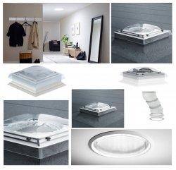 Tageslicht-Spot mit flexiblem Rohr VELUX TCF 0K14 0010 für Flachdächer - 14