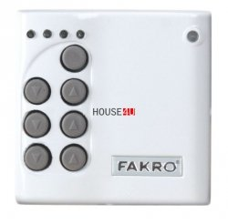 Elektrische Steuerung Fakro ZWK10 Kabelloser Mehrkanal-Wandschalter Z-Wave