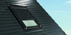 Außenrollladen Roto Designo ZRO EF Automatische Rolladen gesteuert von der Fernbedienung für Dachfenster Roto Designo line