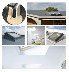 Outlet: Flachdachfenster VELUX ECX FlachdachSystem MK06