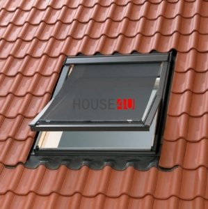 OUTLET: Markise Velux MHL PK00 94x__ Hitzeschutz 5060 transparent schwarz