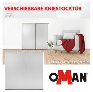 Kniestocktür Slide Space BASIC - VERSCHIEBBARE KNIESTOCKTÜR 120x120