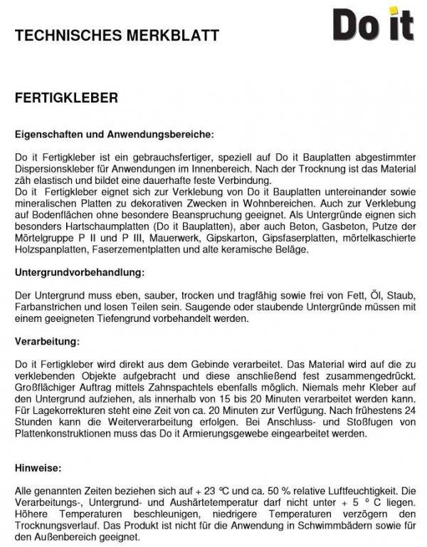 Klebe und Dichtmasse Ultrament Klebe- und Dichtpower Do-it 310/470 www.house-4u.eu