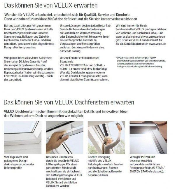 VELUX Dachfenster GGU 0070Q Schwingfenster Kunststoff Einbruchschutz www.house-4u.eu