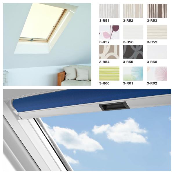 Rollo Roto ZRS PG3 Standard für Designo Dachfenster R64-R69P/R84-R89P/i85-i89P Preisgruppe 3