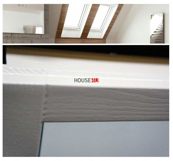 Dachfenster Optilight VB-W Weiß lackiert Schwingfenster Holz www.house-4u.eu
