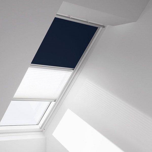 Verdunkelungs-Rollo & Faltstore/Plissee Velux DFD Standard www.house-4u.eu