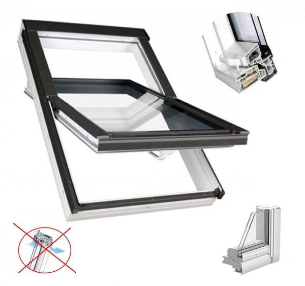Dachfenster Fakro PTP U3 Schwingfenster MIT ERHÖHTER FEUCHTERESISTENZ ohne Dauerlüftung www.house-4u.eu