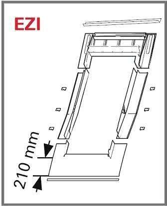 Eindeckrahmen Roto EDR ZIE für profilierte Eindeckmaterialien mit WD www.house-4u.eu