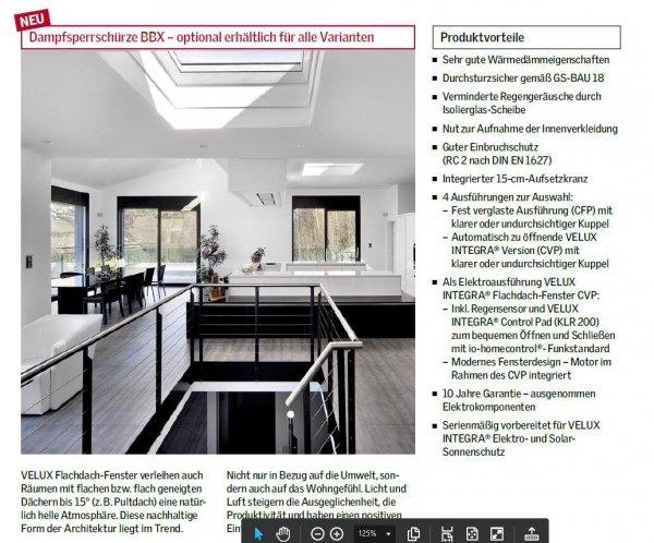 "VELUX Flachdach-Fenster ""LICHTKUPPEL"" Klarer Acryl transparente Kuppel ISD 0000- Typ CFP/CVP/CXP/CSP www.house-4u.de"