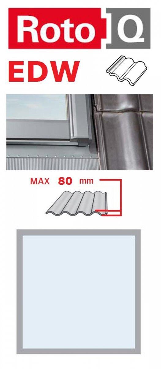 Eindeckrahmen Roto Q-4 EDW Eindeckrahmen - für profilierte Eindeckmaterialien / Profilbeläge bis zu 8 cm hoch Profil www.house-4u.eu