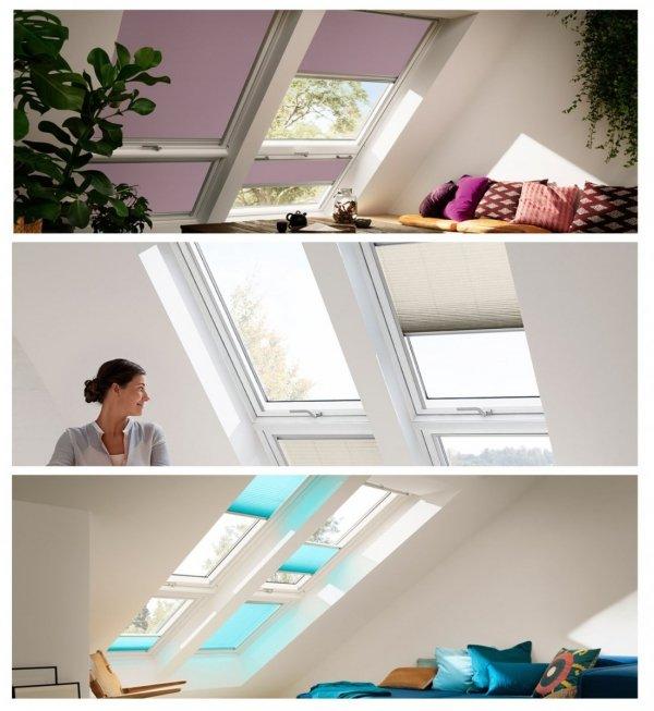 """VELUX Dachfenster GIU 0070 Kunststoff Zusatzelement """"Dachschräge"""" THERMO Aluminium Dachschräge"""