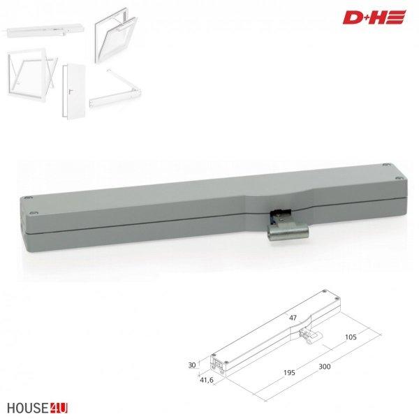 Kettenantrieb VCD 203/250 Silber  200N / 250mm; RAL 9006 _ house-4u.de