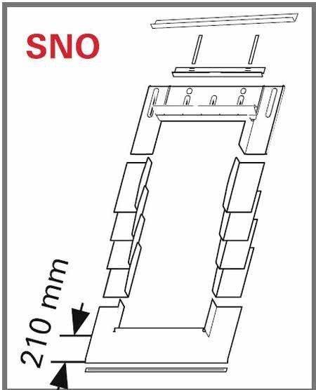 Eindeckrahmen Roto EDR SNO für Schiefer, Biberschwanz mit WD www.house-4u.eu