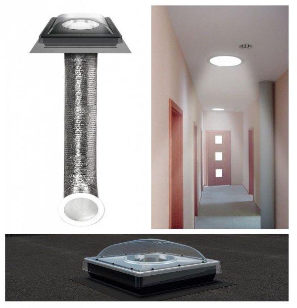 Tageslicht-Spot Fakro SFF für Flachdächer www.house-4u.eu